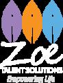 Zoe Talent Solutions logo white